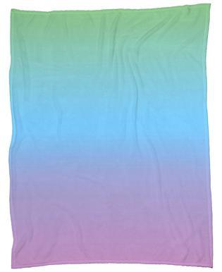 New Rainbow Fleece Blanket