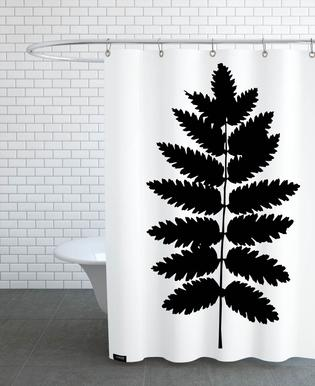 Leaf Specimen Fern Shower Curtain