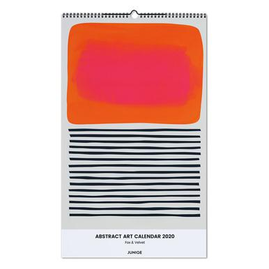 Abstract Art Calendar 2020 - Fox & Velvet Wall Calendar