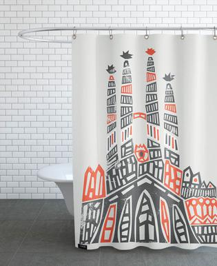 Sagrada Familia -Duschvorhang