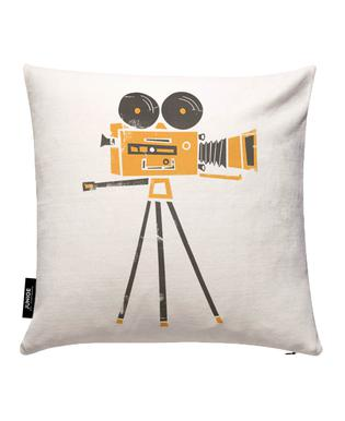 Lights,Camera... Cushion Cover
