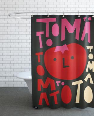 Tomato Tomato rideau de douche