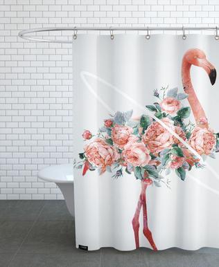 Flamingo -Duschvorhang