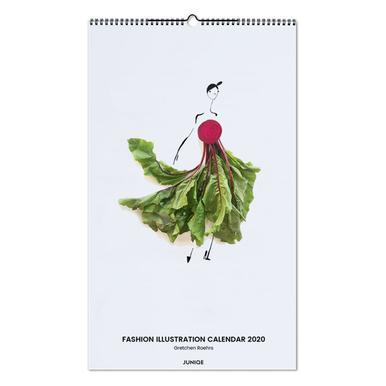 Fashion Illustration Calendar 2020 - Gretchen Roehrs -Wandkalender