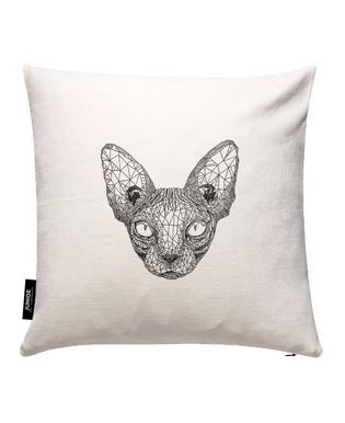 Sphynx Cat Cushion Cover