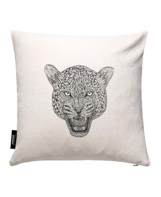 Jaguar Cushion Cover