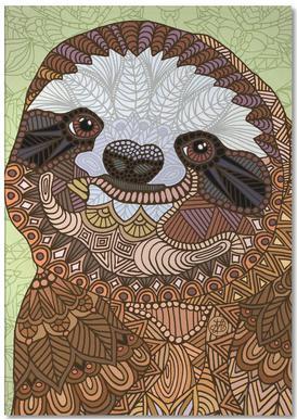 Smiling Sloth Notepad