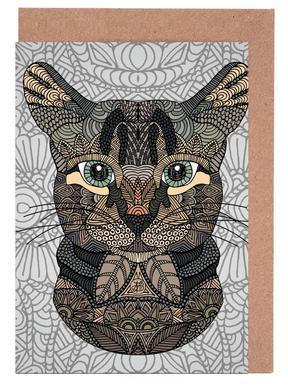 Tabby Cat cartes de vœux