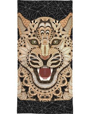 Leopard serviette de bain