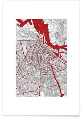 Amsterdam's Liveblood - Premium Poster