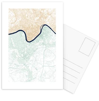 Rome -Postkartenset