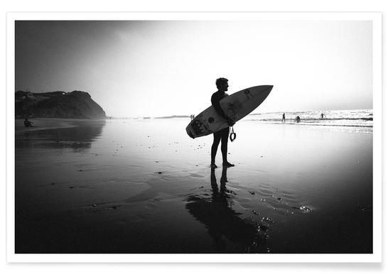 Off for a Surf I - Premium Poster