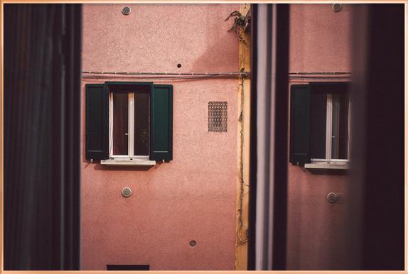 Bologna 1 Poster in Aluminium Frame
