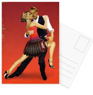 Tango ansichtkaartenset