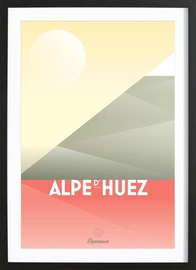 Alpe d'Huez II Framed Print