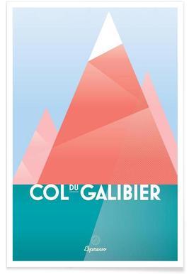 Col du Galibier II Poster