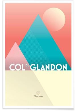 Col du Glandon II Poster