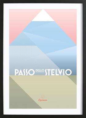 Passo dello Stevio II Framed Print