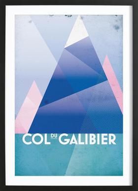 Col du Galibier Framed Print