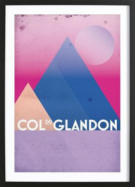 Col du Glandon Framed Print