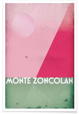 Monte Zoncolan Poster