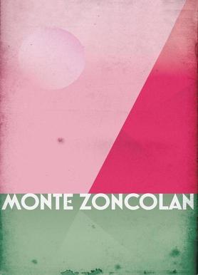 Monte Zoncolan Canvas Print
