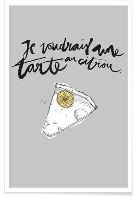 Tarte -Poster