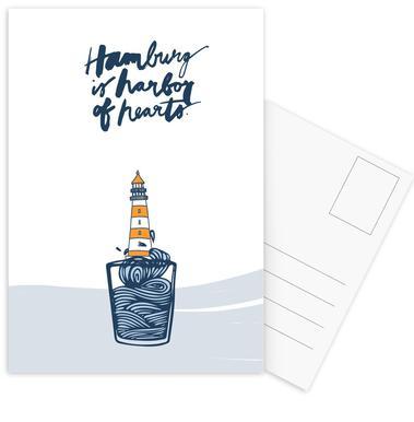 Harbor of Hearts -Postkartenset