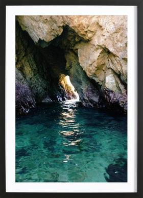 Colorful Ocean Cave