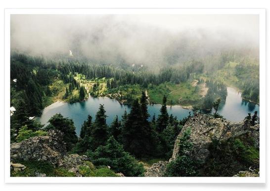 Rainier Eunice Lake - Premium poster