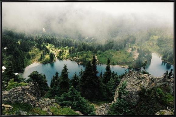 Rainier Eunice Lake - Poster in Standard Frame