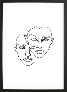 Notion Framed Print