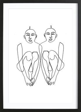 Normi Framed Print