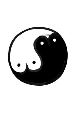 Boob Yin Yang -Alubild