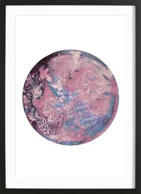 Callisto - Affiche sous cadre en bois