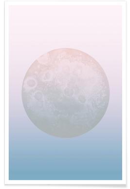 Light Moon - Premium Poster