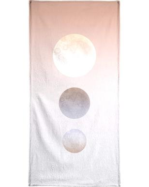 Moon Triplet Bath Towel