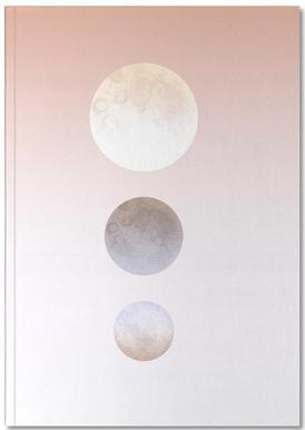 Moon Triplet Notebook