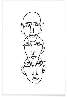 Three - Affiche