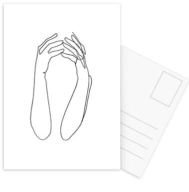 Desperate -Postkartenset