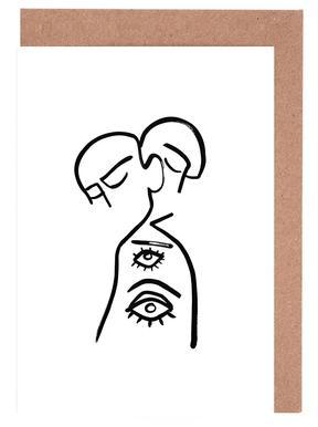 Eye Want You Greeting Card Set