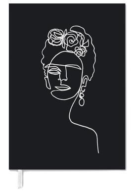 Frida Kahlo BW agenda