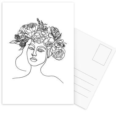 Layla Postcard Set