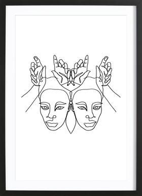 Luanne Framed Print