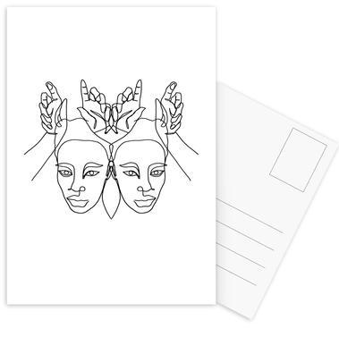 Luanne Postcard Set