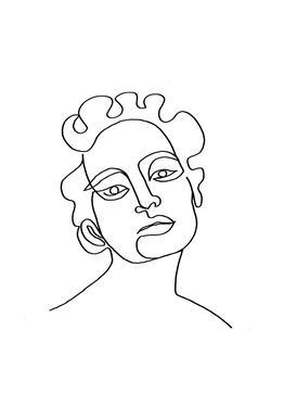 Maude acrylglas print