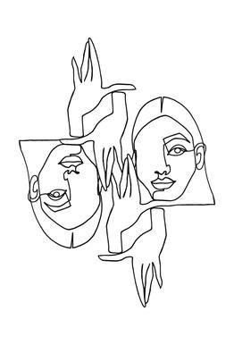 Mila acrylglas print