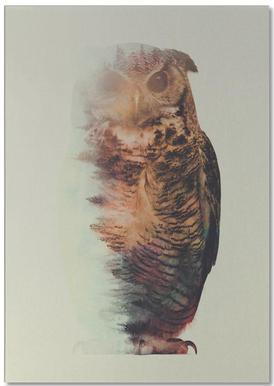 Norwegian Woods: The Owl Notepad