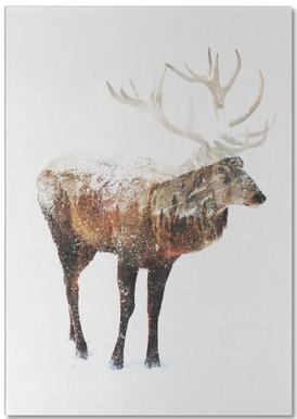 Arctic Deer Notepad