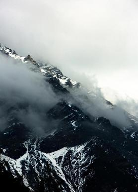 Misty Mountains toile